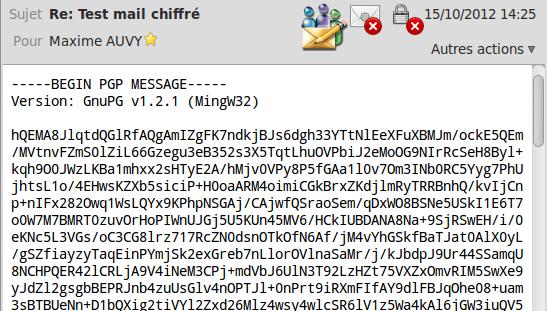 Mail chiffré