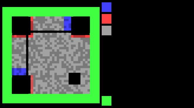 La structure d'un code QR -- Crédits : Zephyris [CC-BY-SA-3.0], via Wikimedia Commons