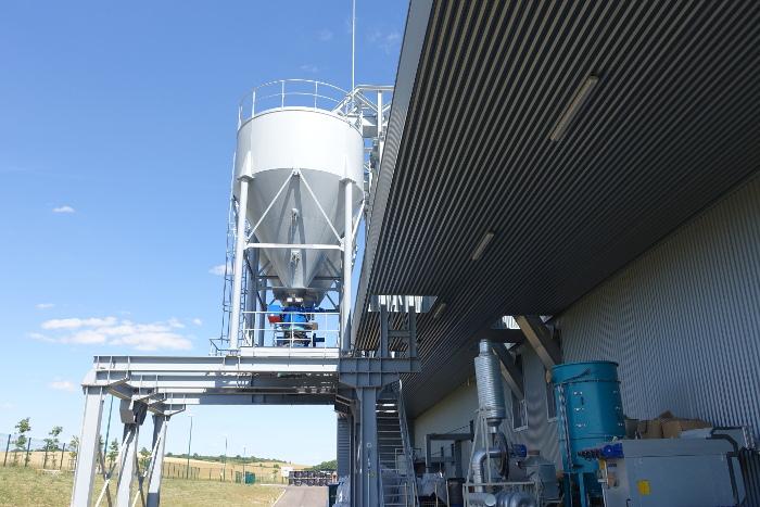 Les silos de stockage